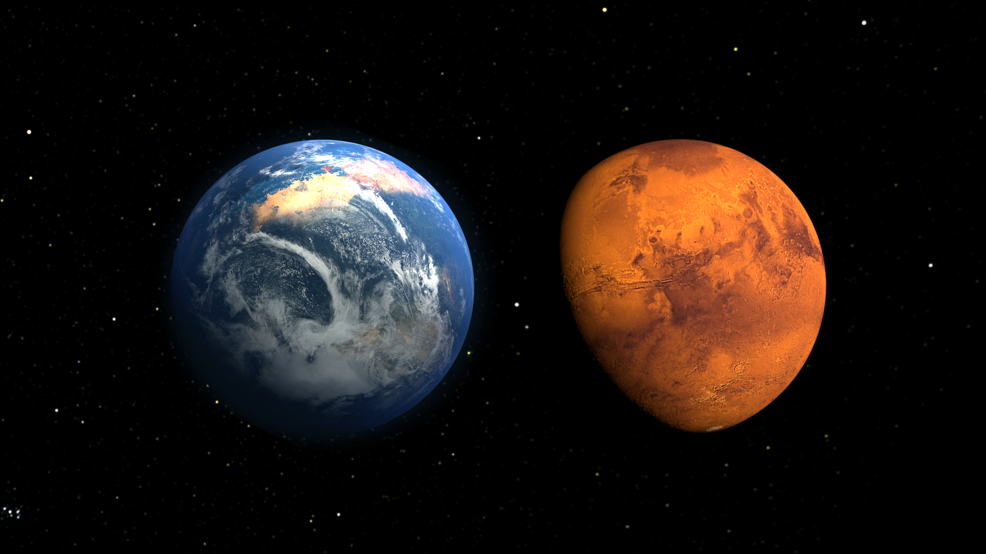 The Look of a Young Mars | NASA