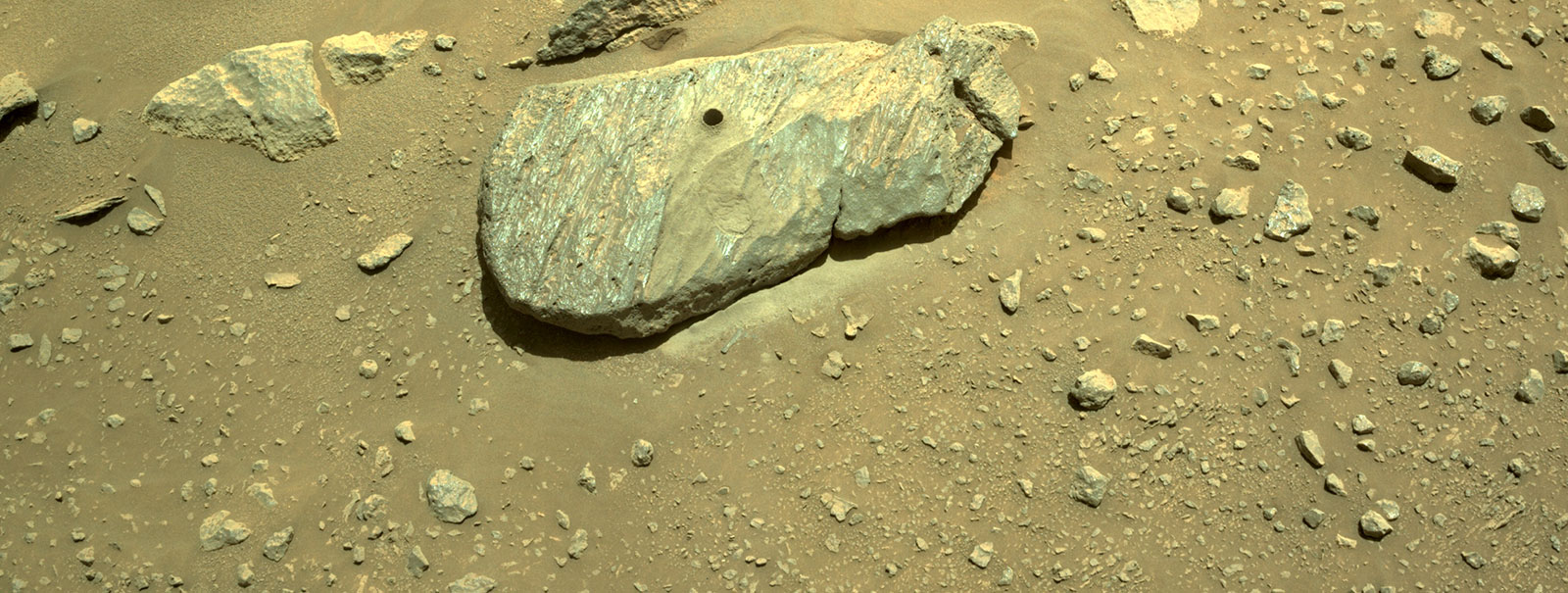 NASA to Host Briefing on Successful Sample Collection of Martian Rock