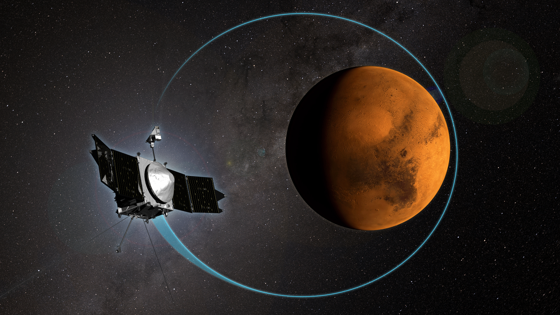 MAVEN Completes 1,000 Orbits Around Mars | NASA