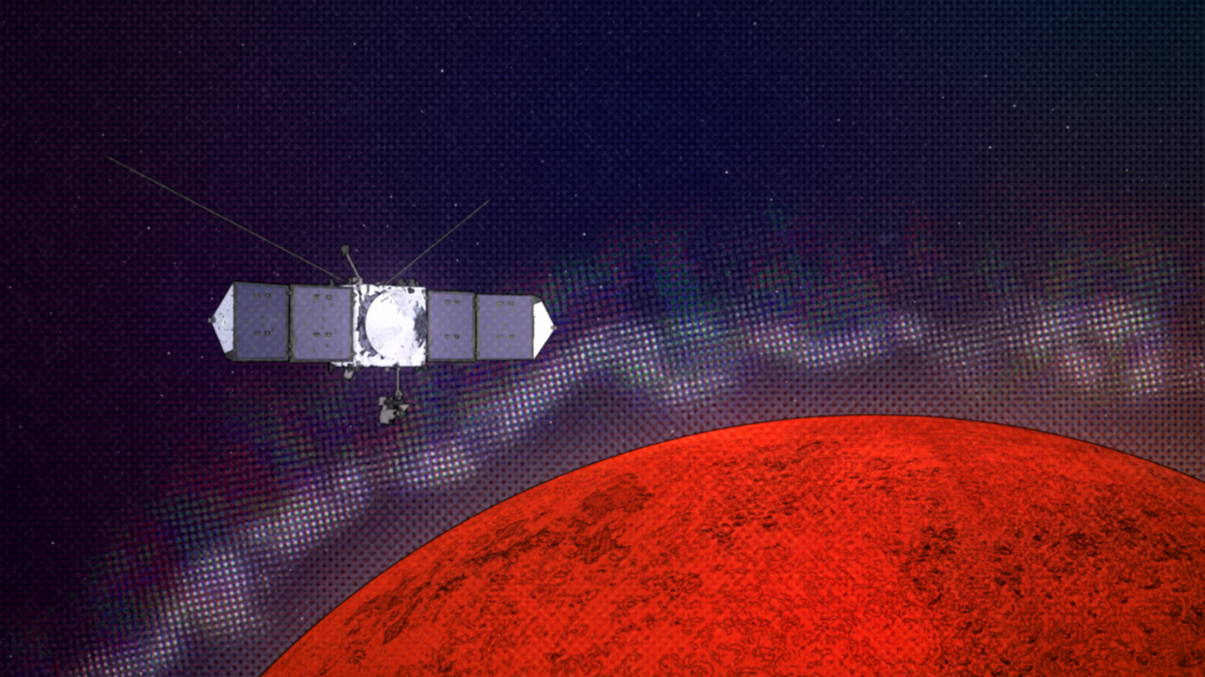 MAVEN Explores Mars to Understand Radio Interference at Earth