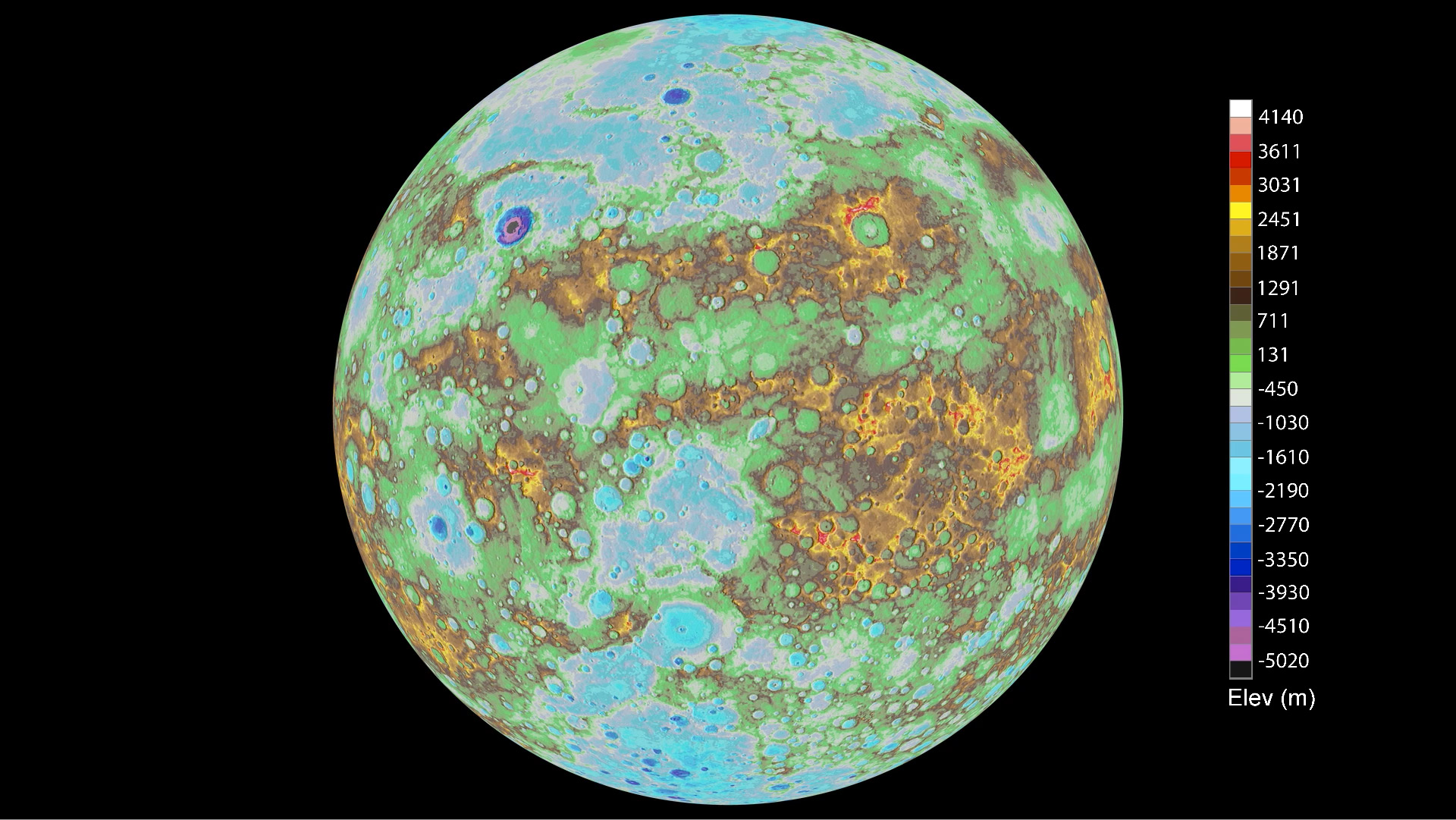 First global topographic model of mercury nasa gumiabroncs Choice Image