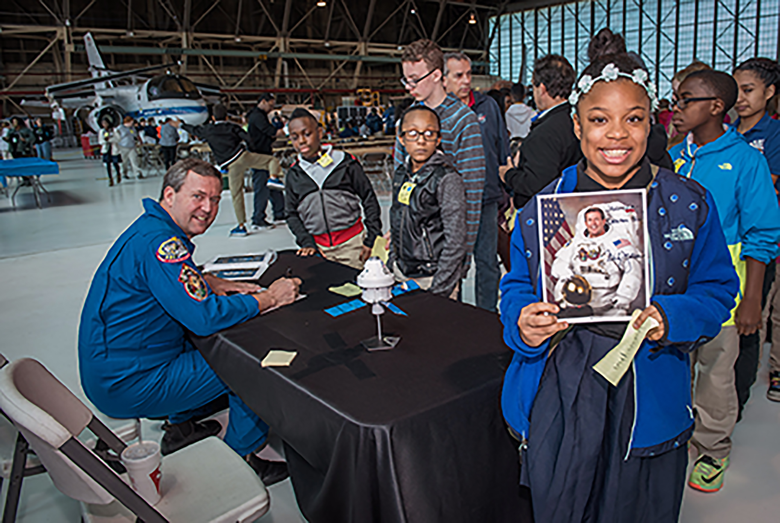 Worksheet Nasa Kids Program nasa to host educator development events during upcoming essence retired astronaut and spacewalker mike foreman signed autographs for students at the 2015 national lab