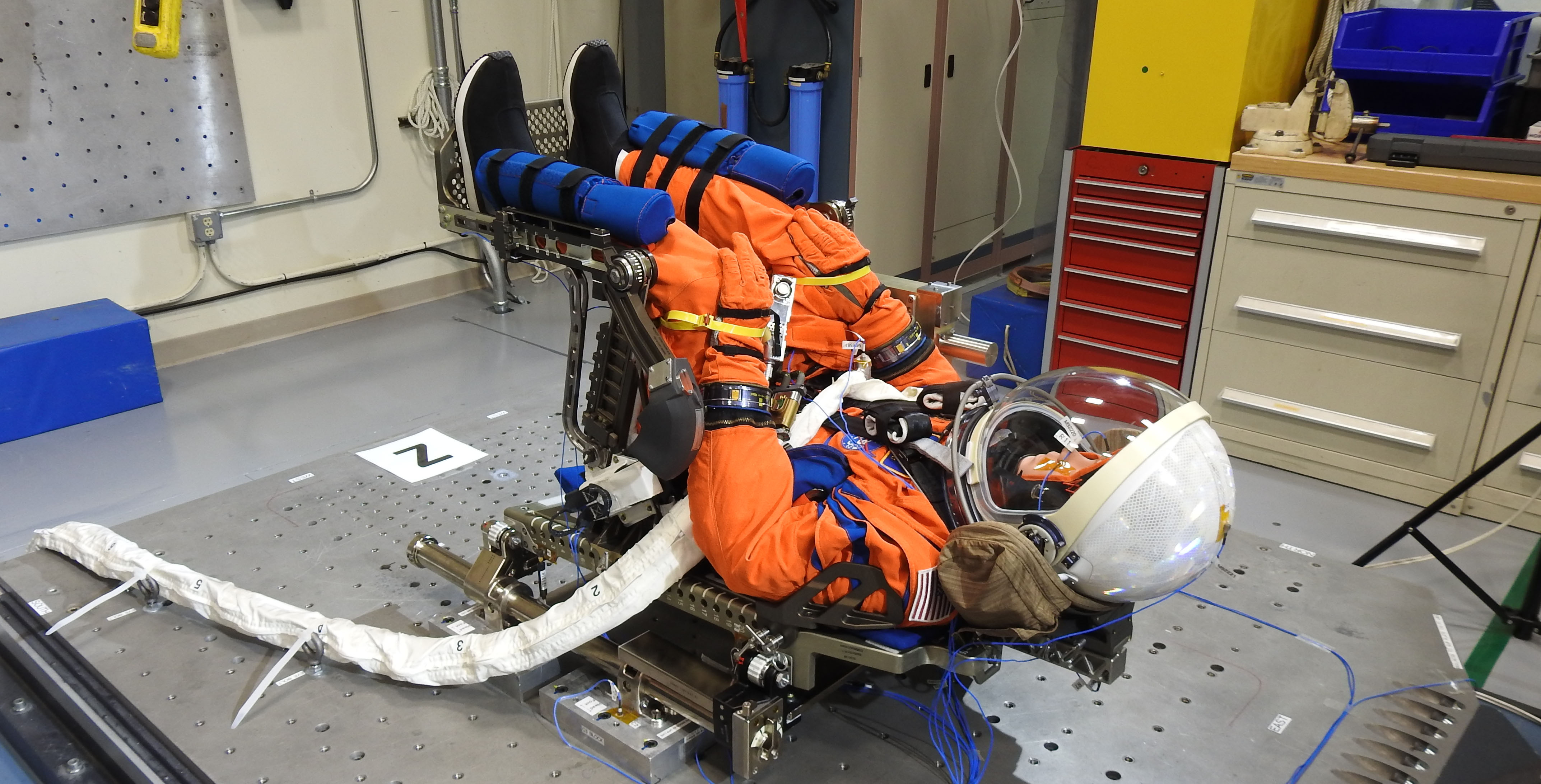 A Purposeful Passenger Prepares for Mission Aboard Orion Spacecraft