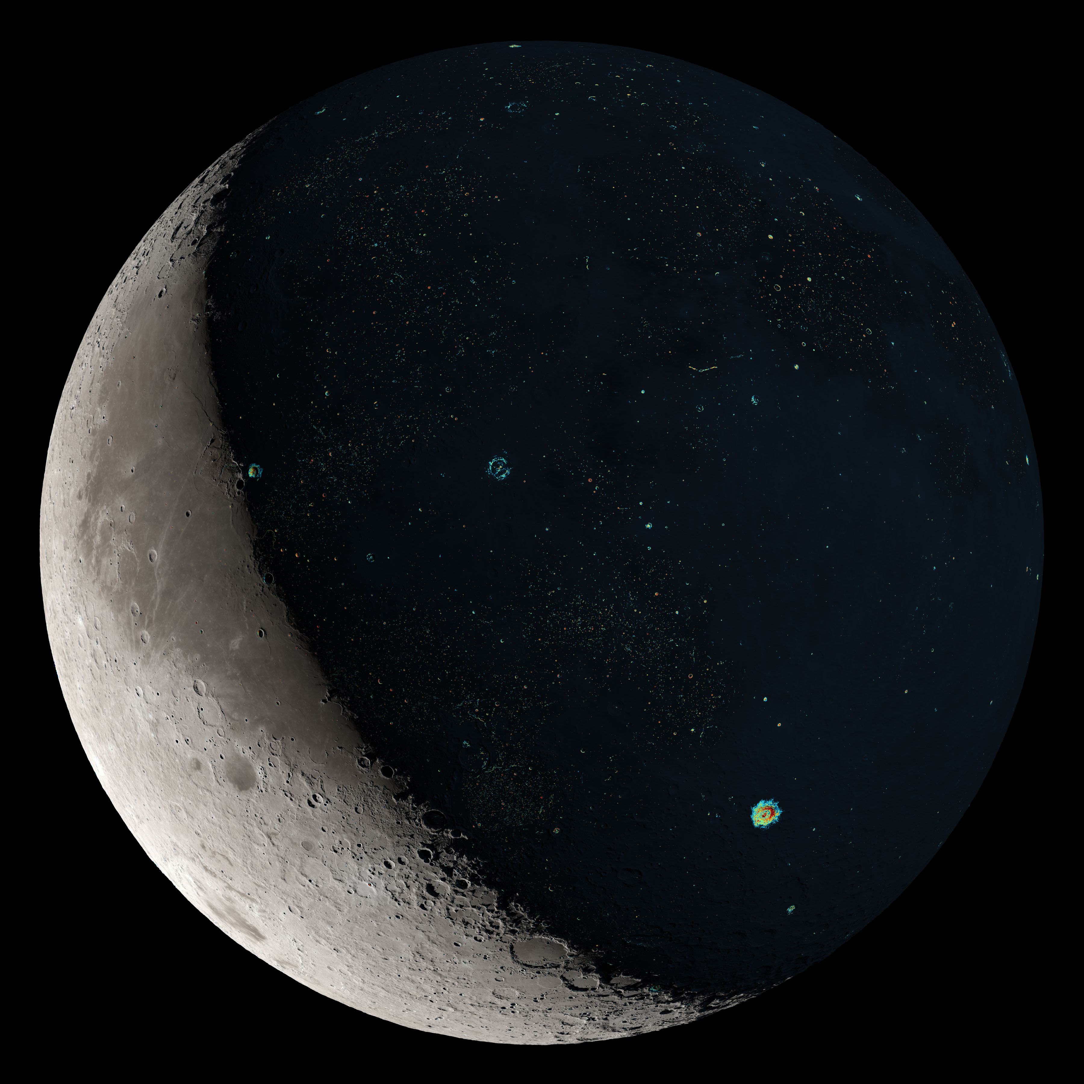 How Moon Study Revealed Increase In Asteroid Impacts On