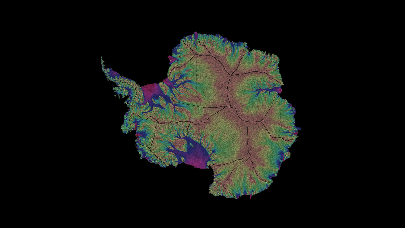 Image: Flowing Antarctic Ice Mapped 10 Times More Accurately