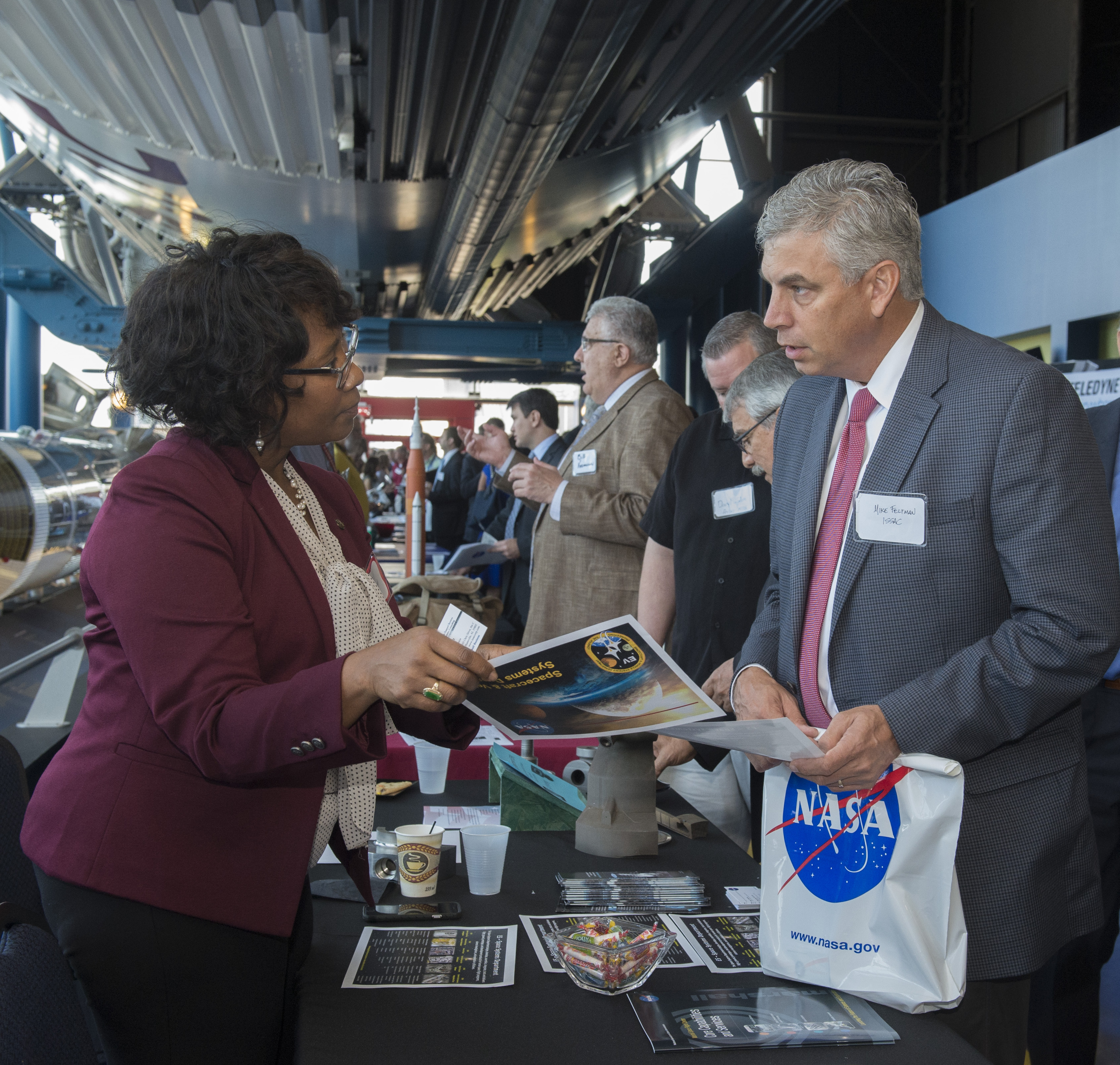nasa marshall team member nadra hatchett left shares information about 3d printing and propulsion - Astronomy Jobs At Nasa