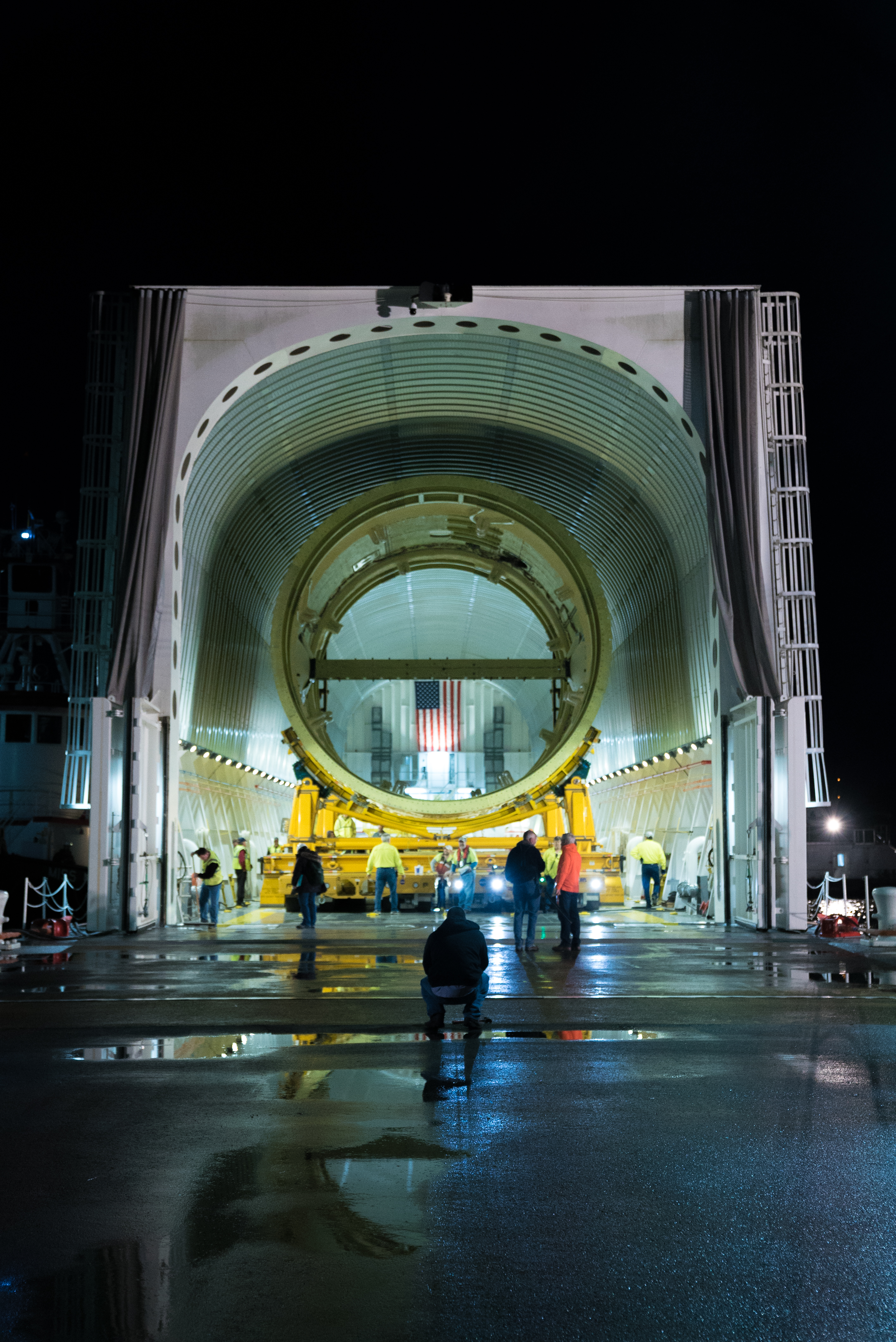 Structural Test Version of the Intertank for NASA's New Deep Space Rocket