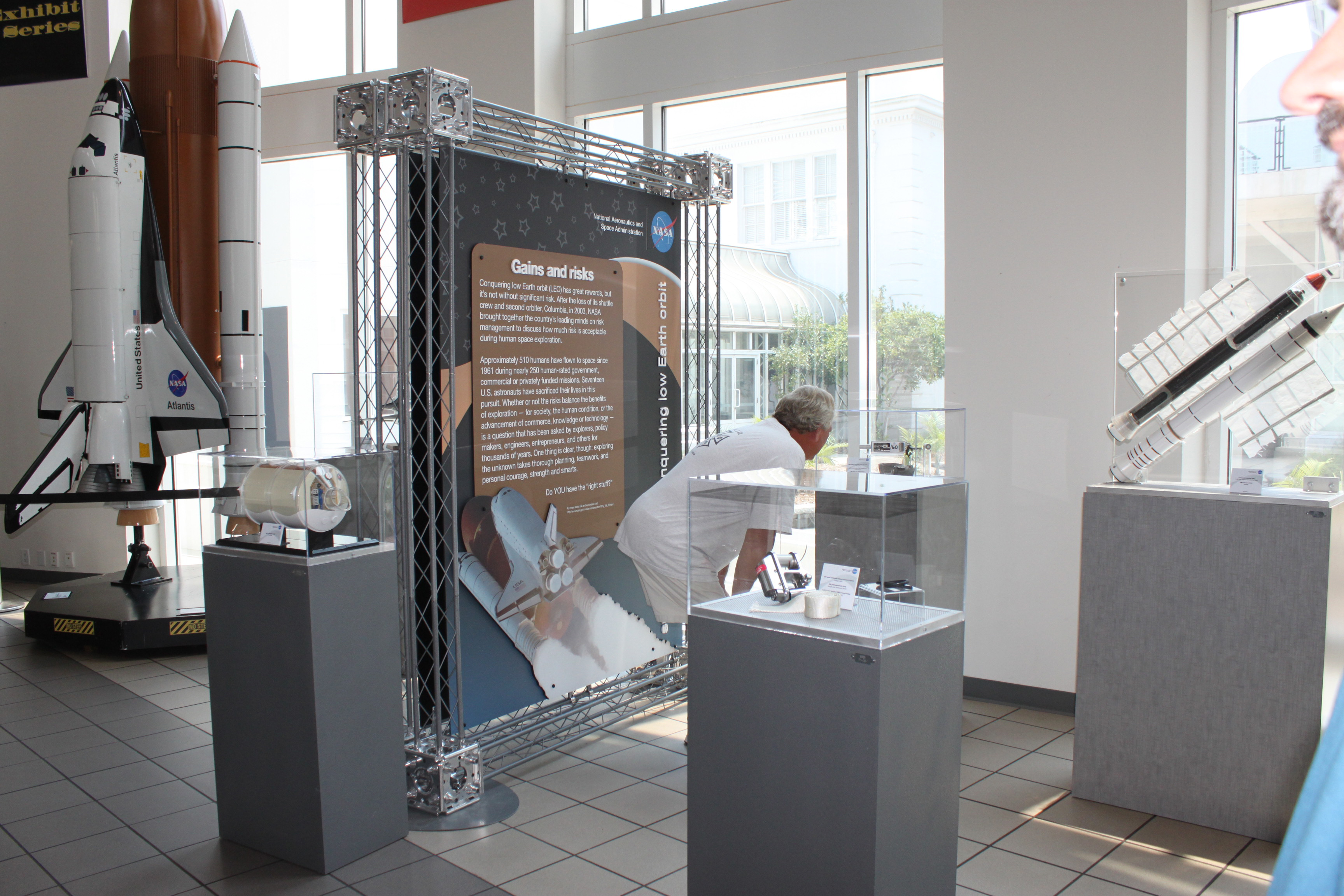 Small Exhibition Stand Examples : Exhibit examples nasa