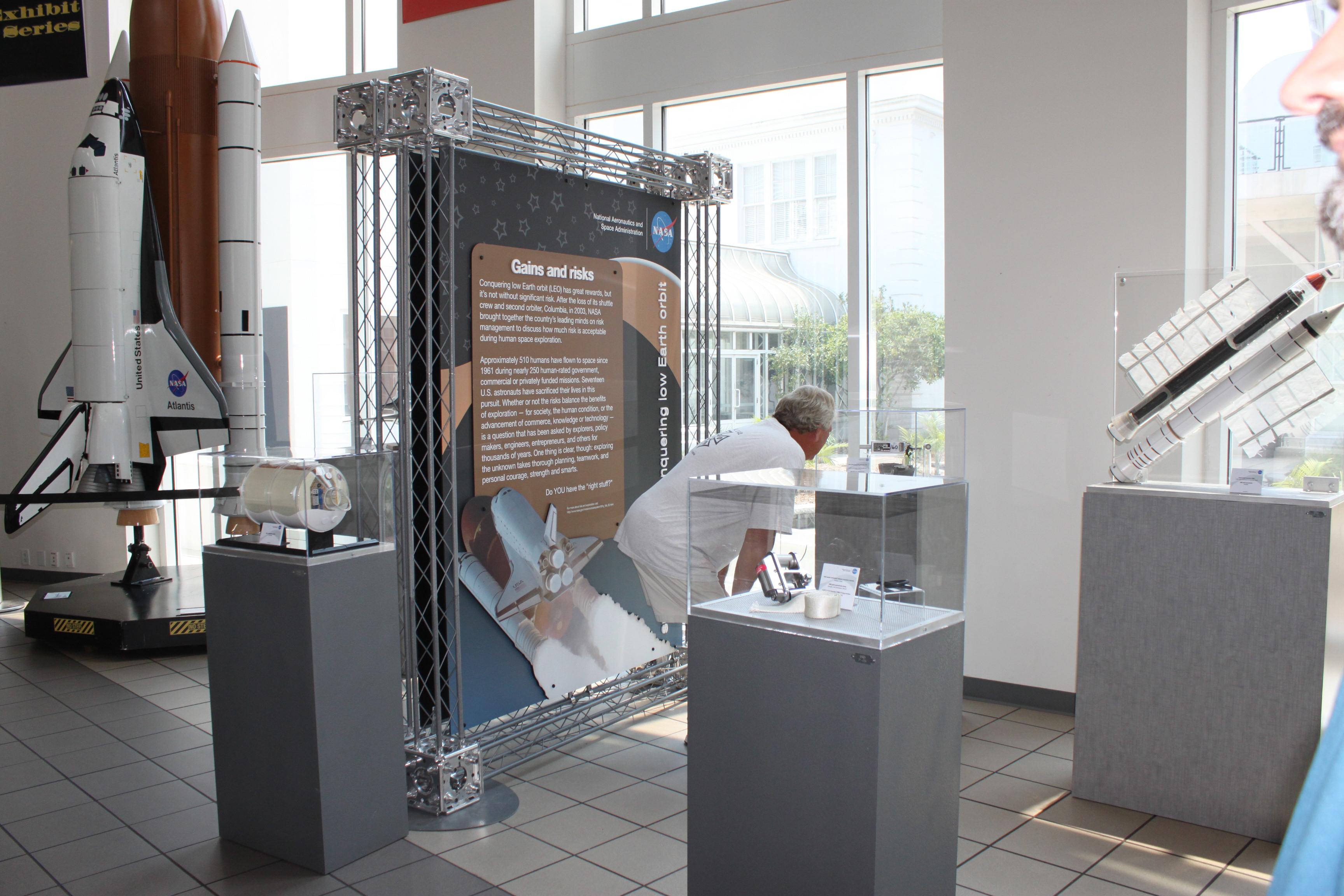 exhibit examples nasa
