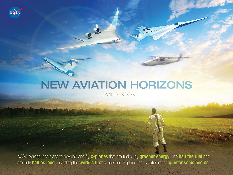NASA Moves To Begin Historic New Era Of XPlane Research NASA - Examples future planes look according nasa