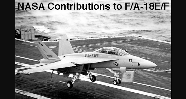 nasa nasa contributions to f a 18e f nasa rh nasa gov