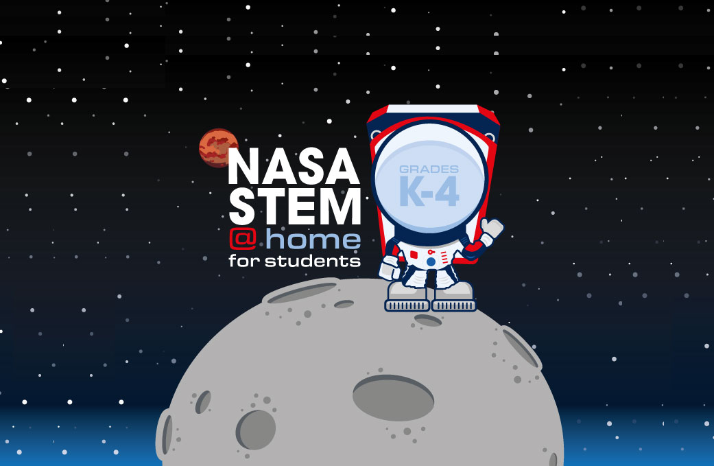NASA at Home -- For Kids and Families | NASA