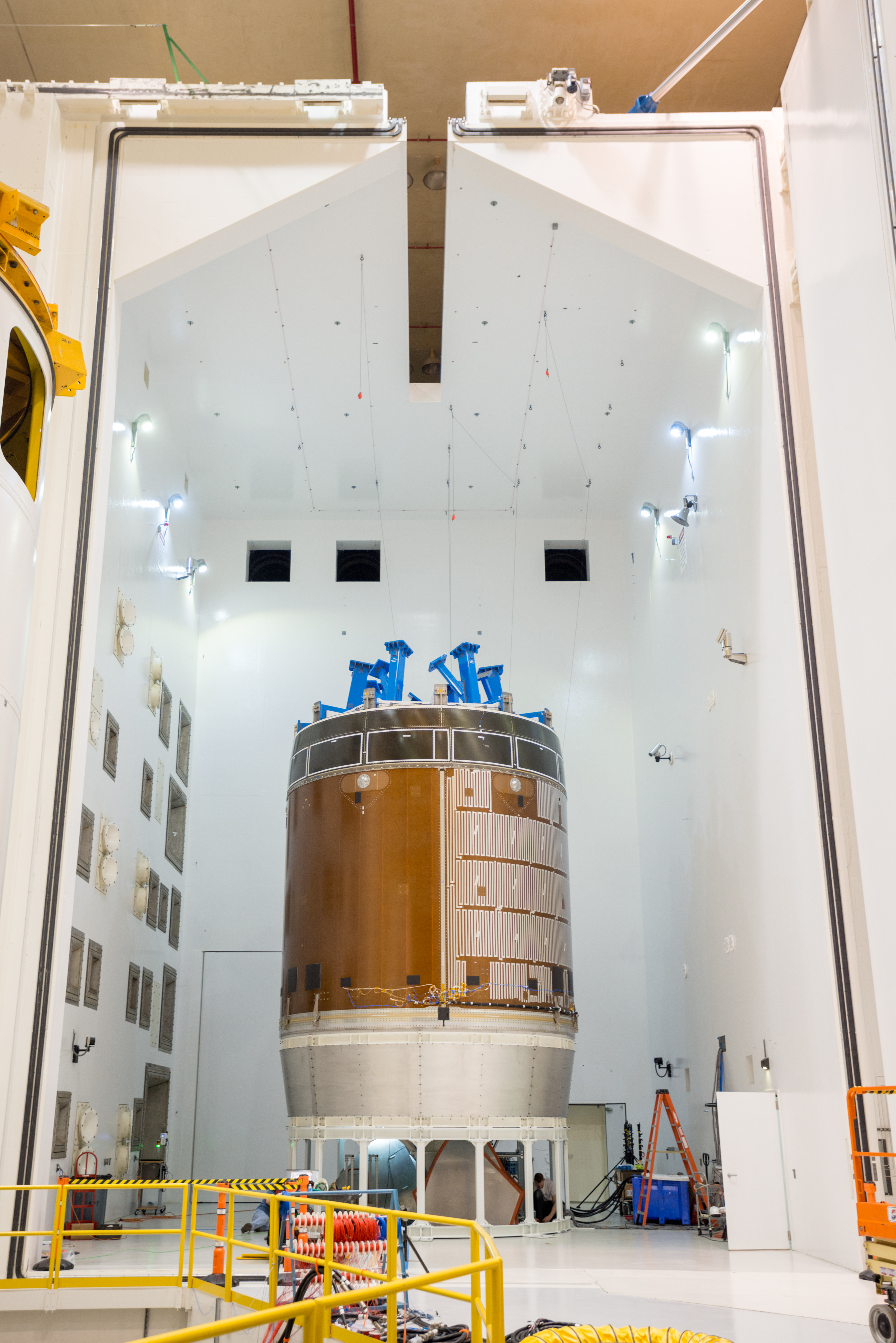 orion s service module completes critical design review nasa
