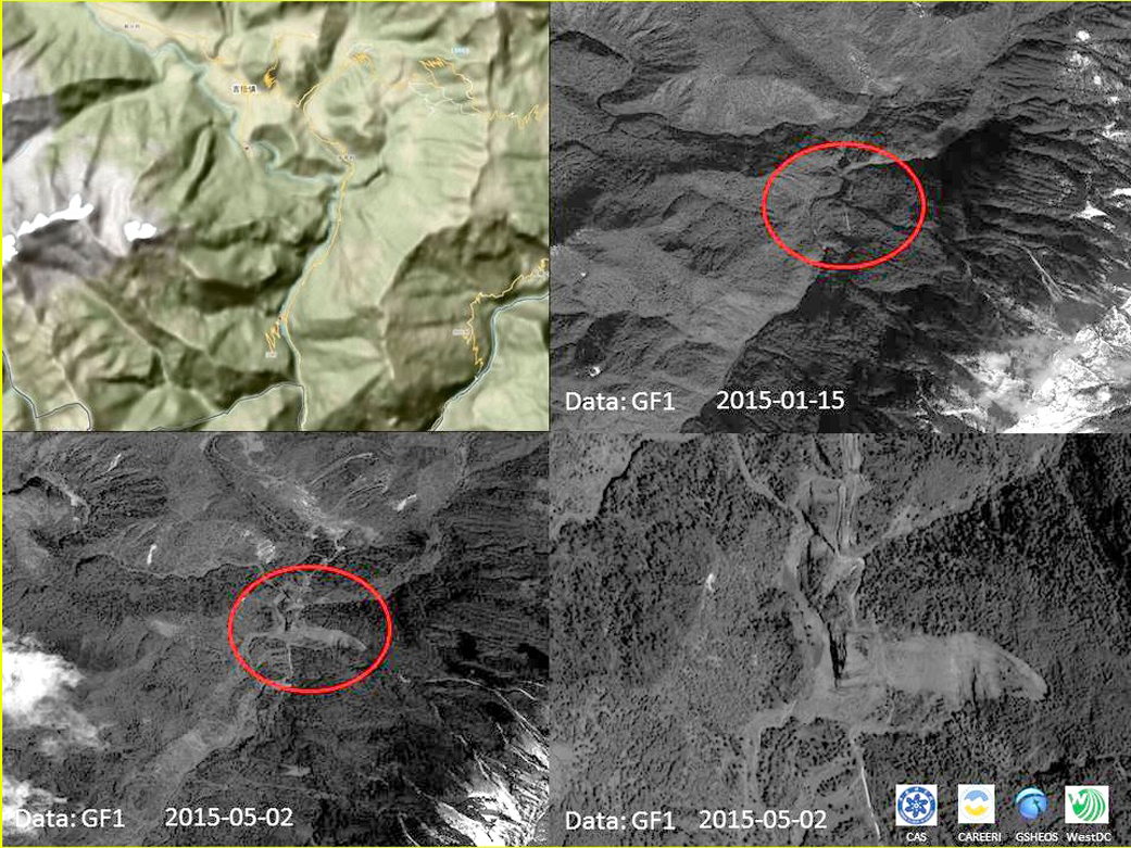 Canadian American Chinese Swiss And British Investigators Are Collaborating To Examine A Hazardous Landslide In Tibet Just North Of Nepal Near 28 359n