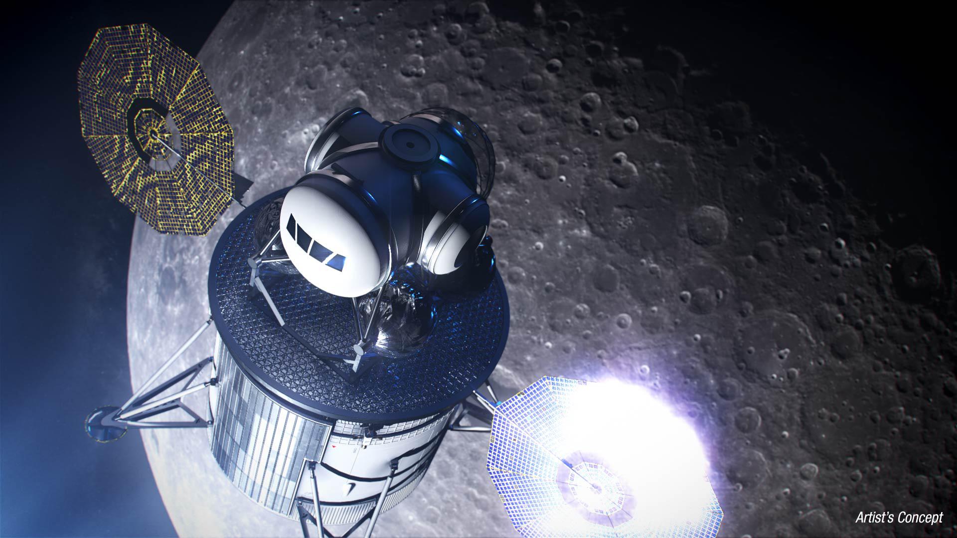 NASA Taps 11 American Companies to Advance Human Lunar Landers