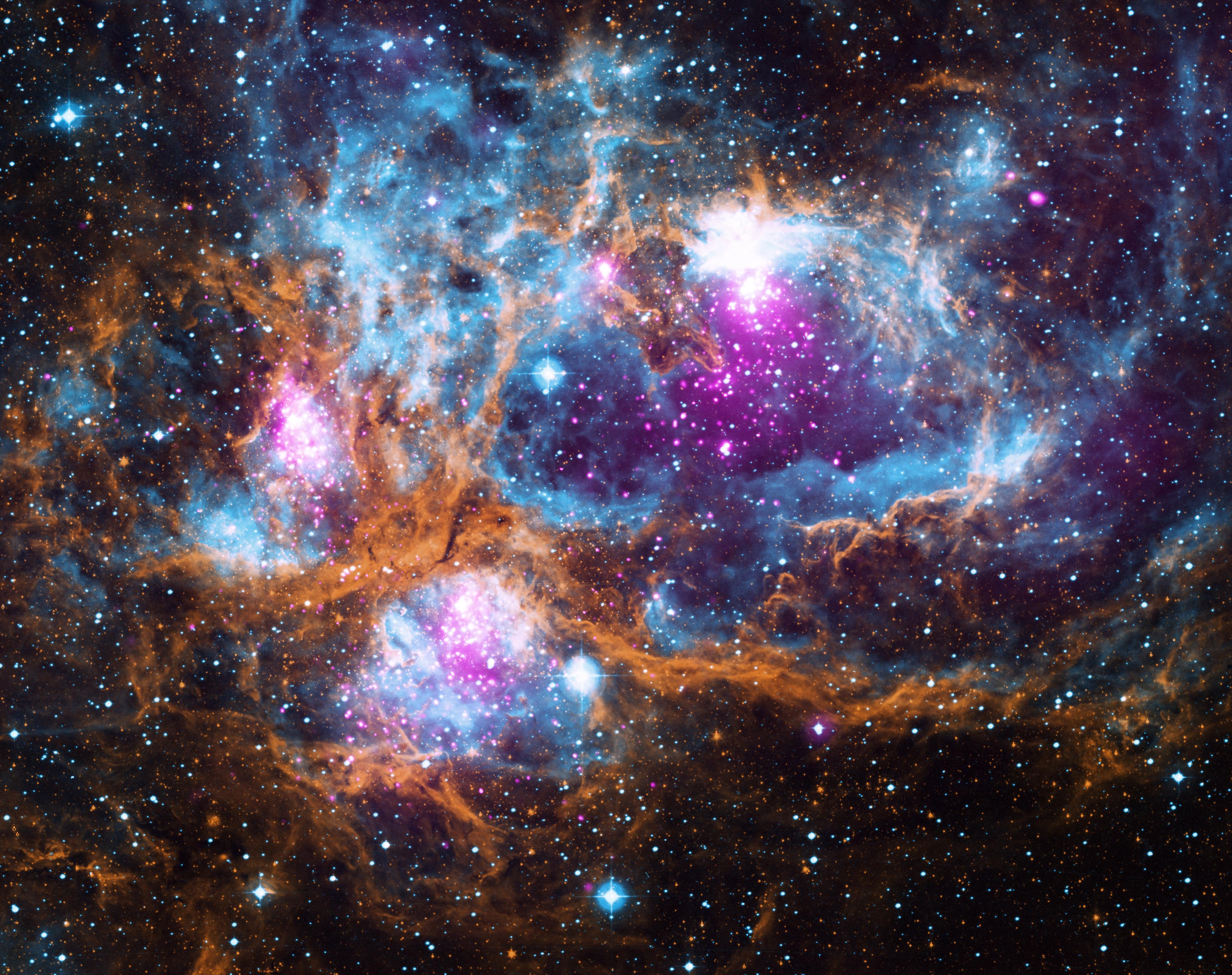 Cosmic Winter Wonderland Nasa
