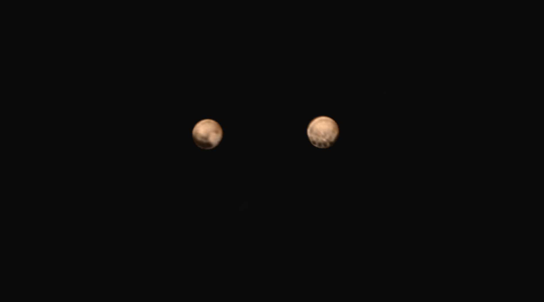 Pluto, 18 milionů kilometrů