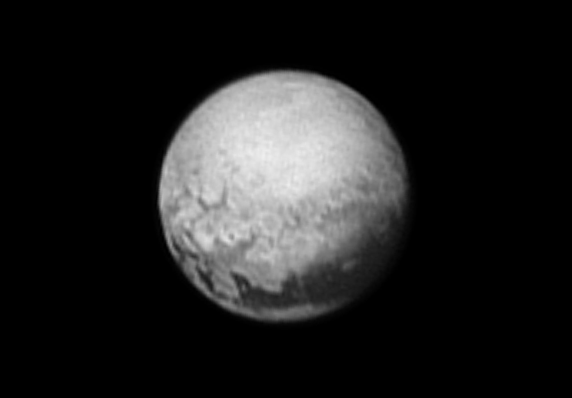 "New Image of Pluto: ""Houston, We Have Geology"" 