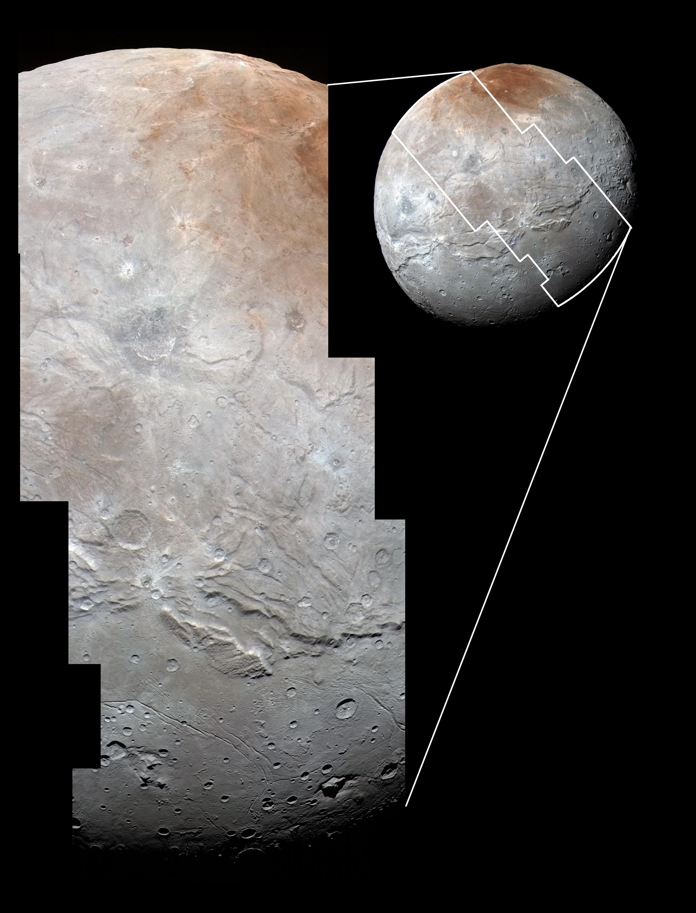 Charon Moon: Charon: Twin Craters Must Be Fraternal