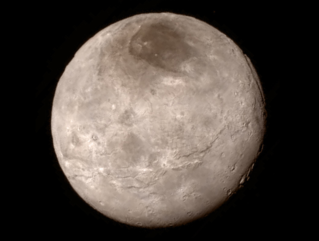 Charon! Imaged by New Horizons