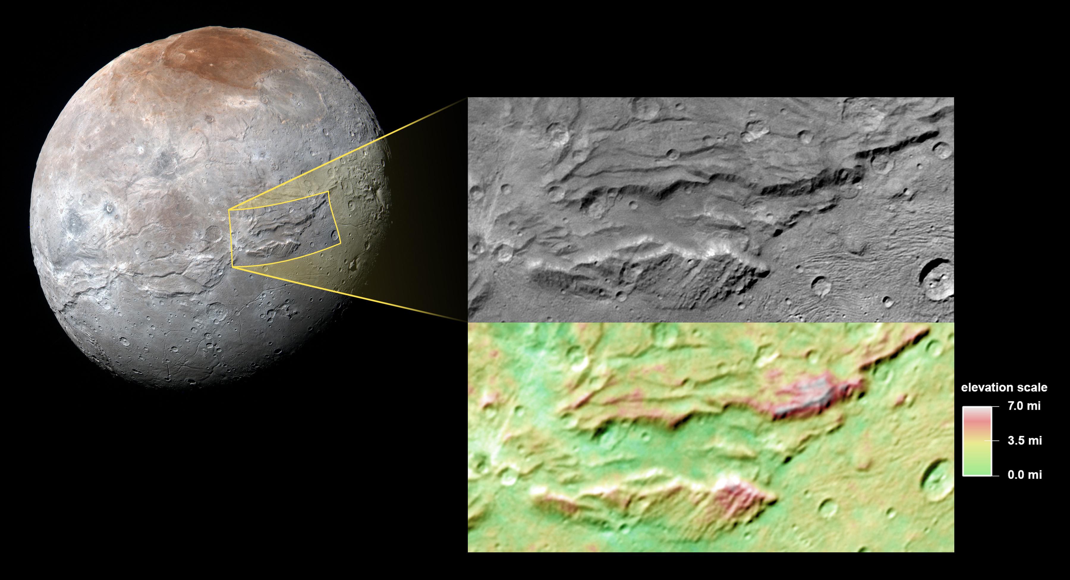 Charon Moon: Pluto's 'Hulk-like' Moon Charon: A Possible Ancient Ocean