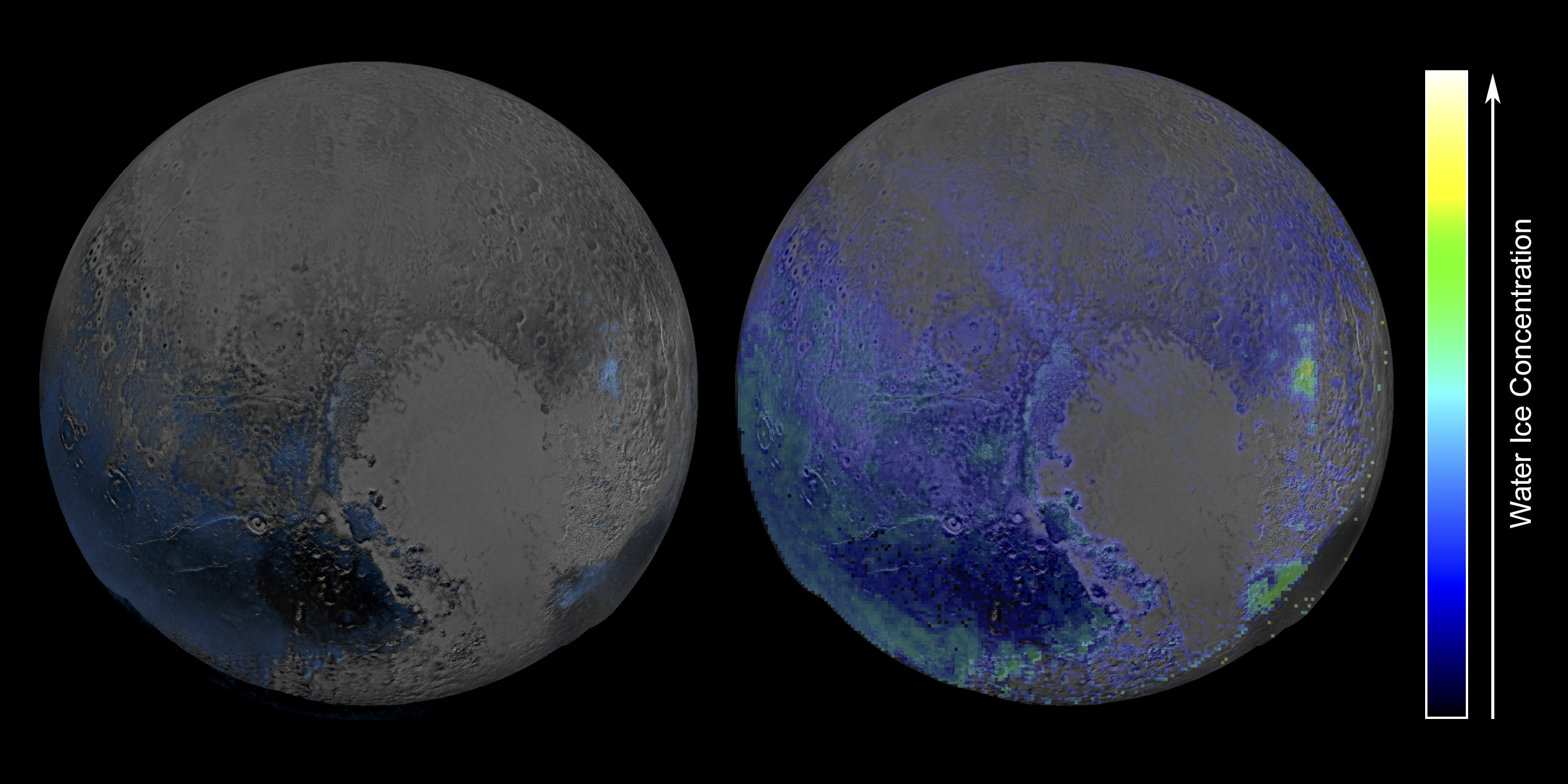 Pluto's Widespread Water Ice | NASA