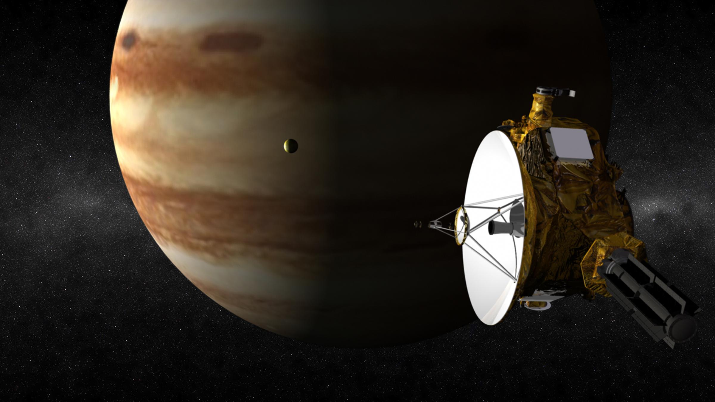 Jupiter Flyby Nasa