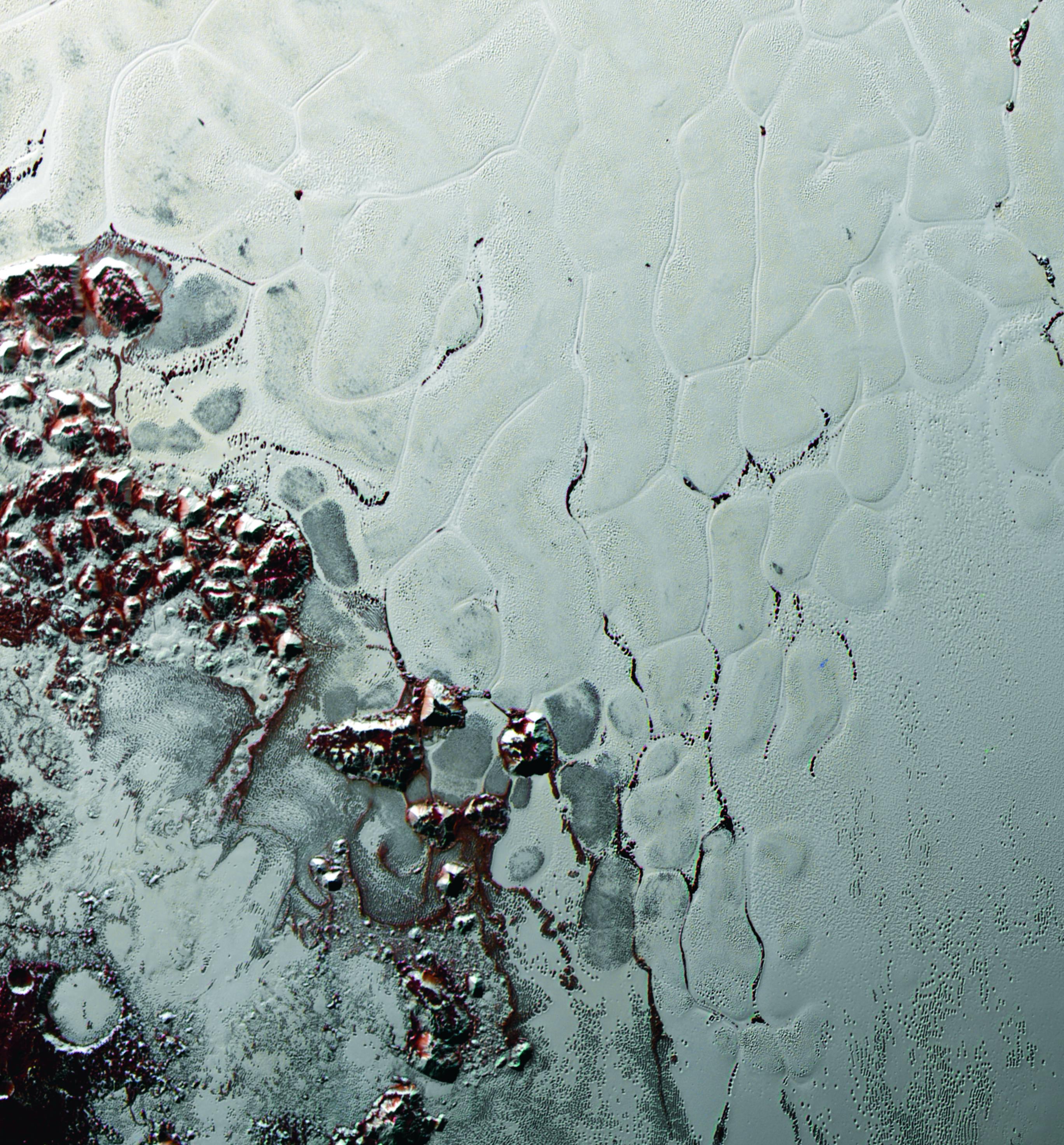 Pluto S Heart Like A Cosmic Lava Lamp Nasa