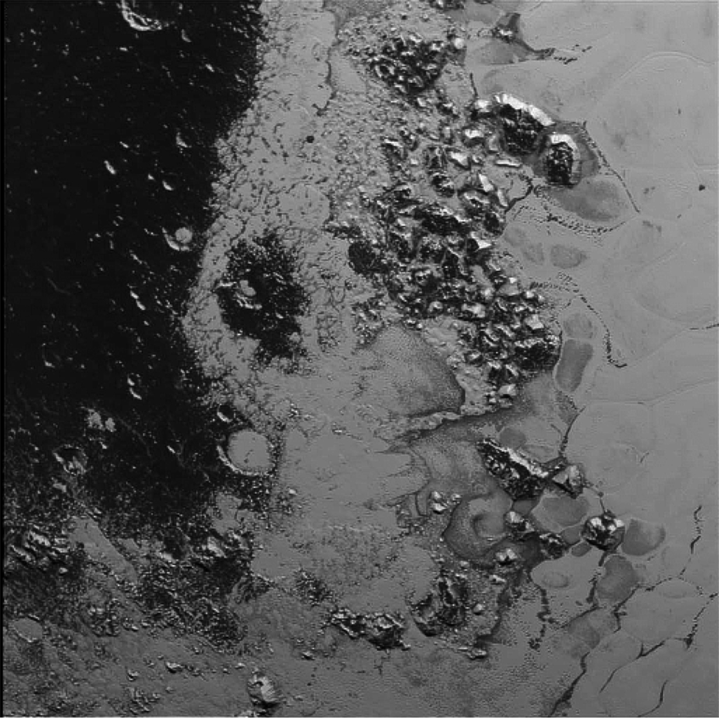 NASA's New Horizons Finds Second Mountain Range in Pluto's ...