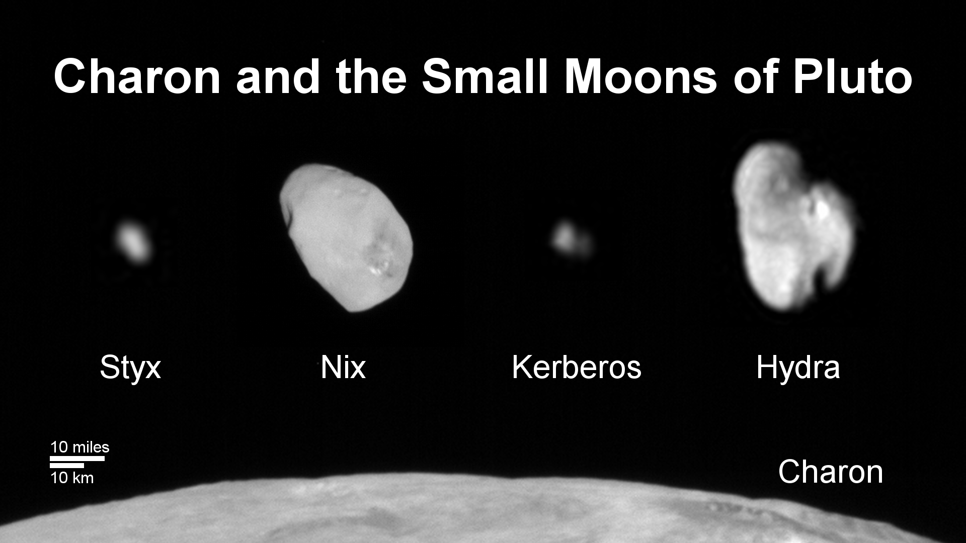 Kerberos A Portrait Of Pluto S Smallest Moon