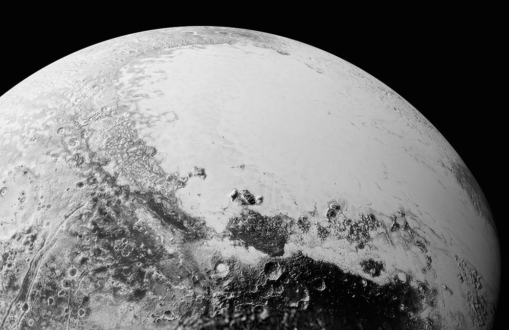 Plutone ripreso dalla sonda New horizons