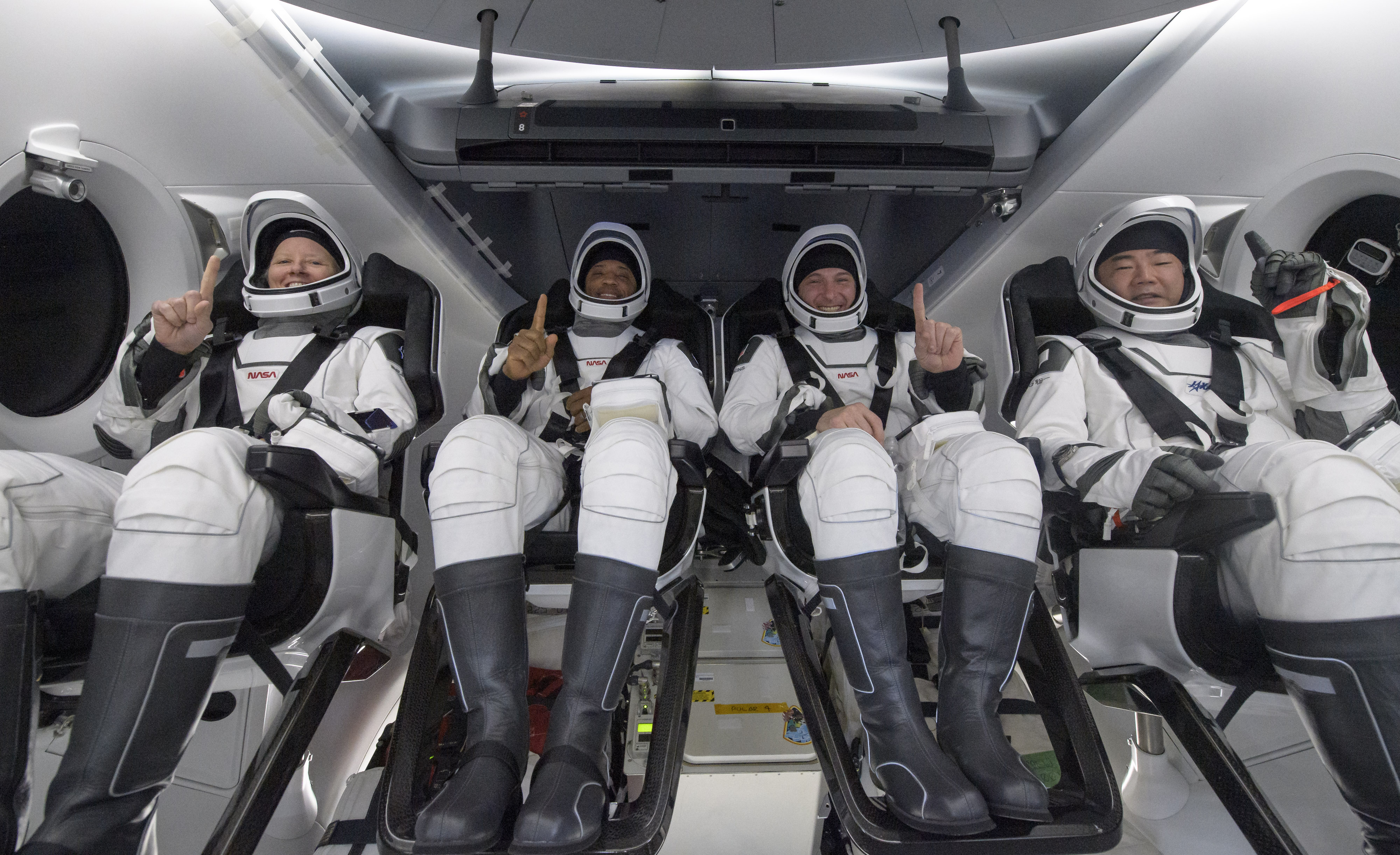 Crew-1 Astronauts Safely Splash Down After House Station Mission