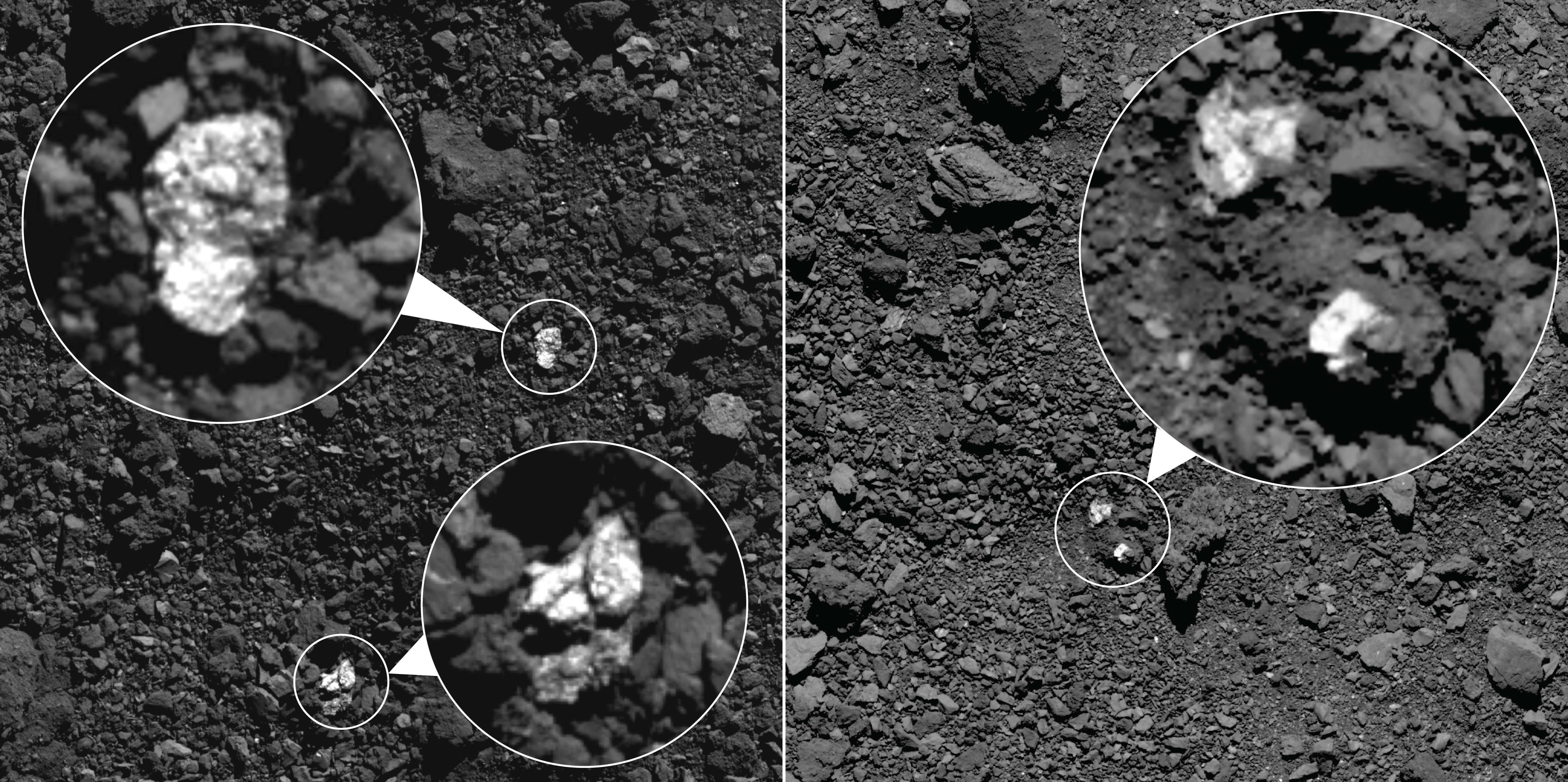 Esses são os fragmentos localizados. (Créditos da imagem: NASA/Goddard/University of Arizona).