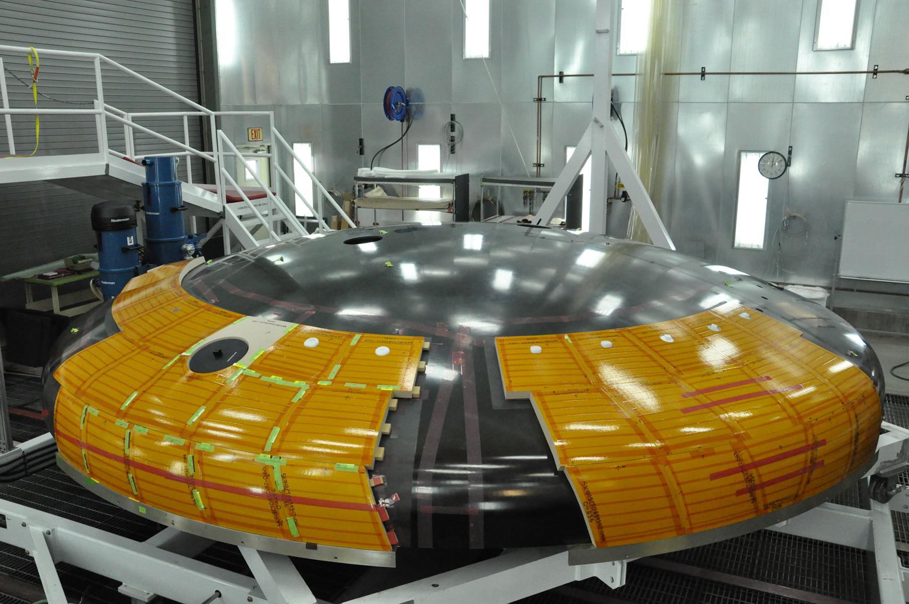 spacecraft heat shield - photo #1