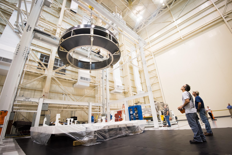 Nasa Prepares To Test Orion Service Module Webb Fuel Filters