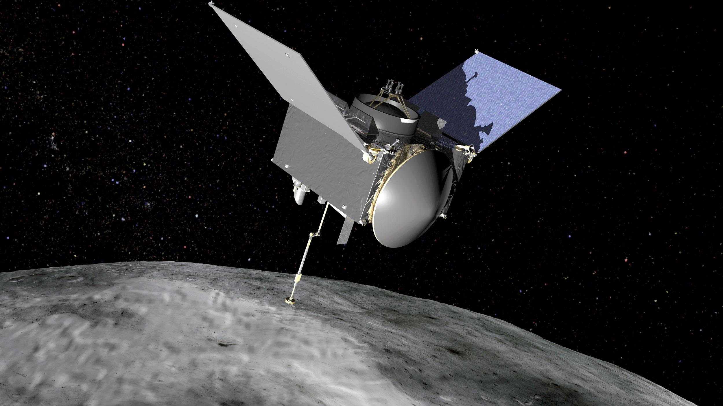 OSIRIS-REx first photographed the asteroid Bennu 10