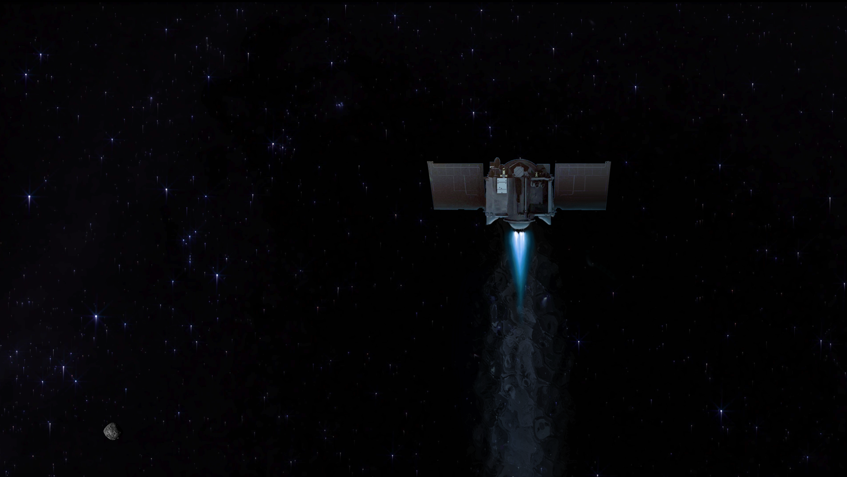NASA's OSIRIS-REx Mission Plans for Could Asteroid Departure