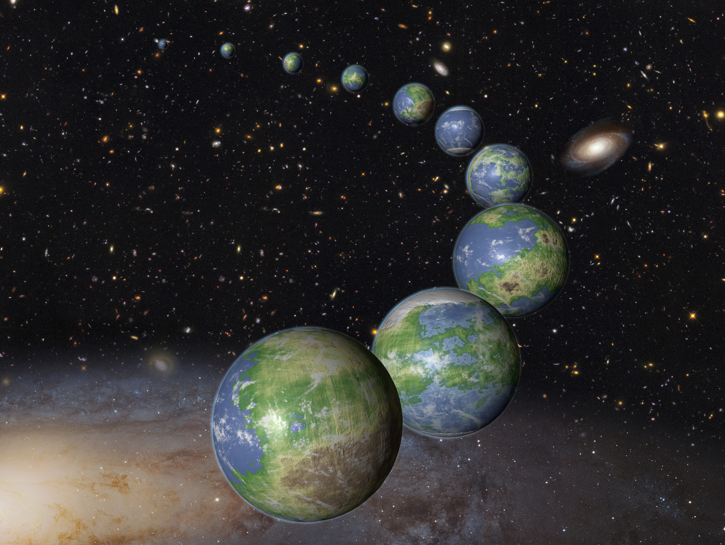 earth like planets in other galaxies - photo #25