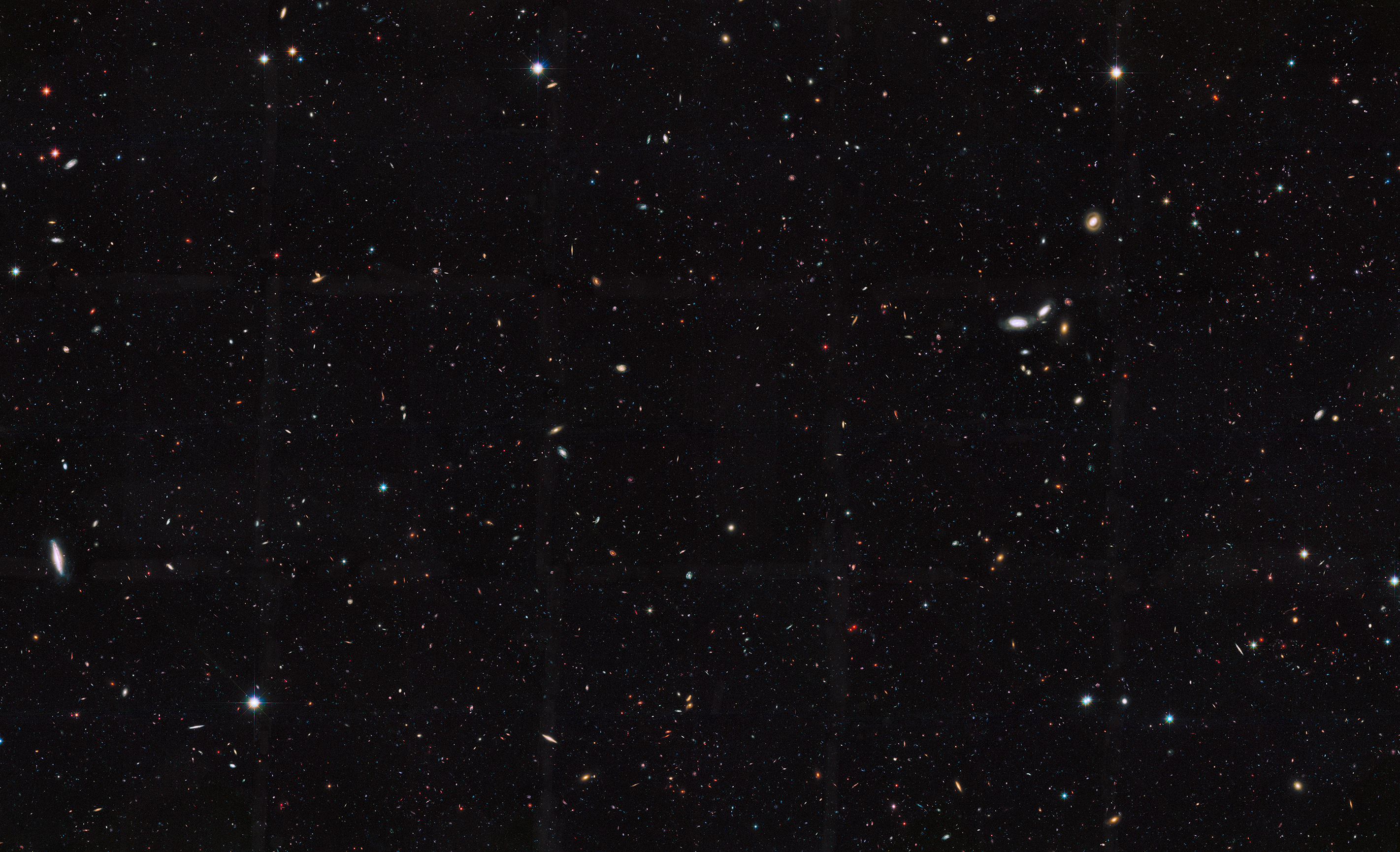 nasa scale of the universe - HD 2843×1731