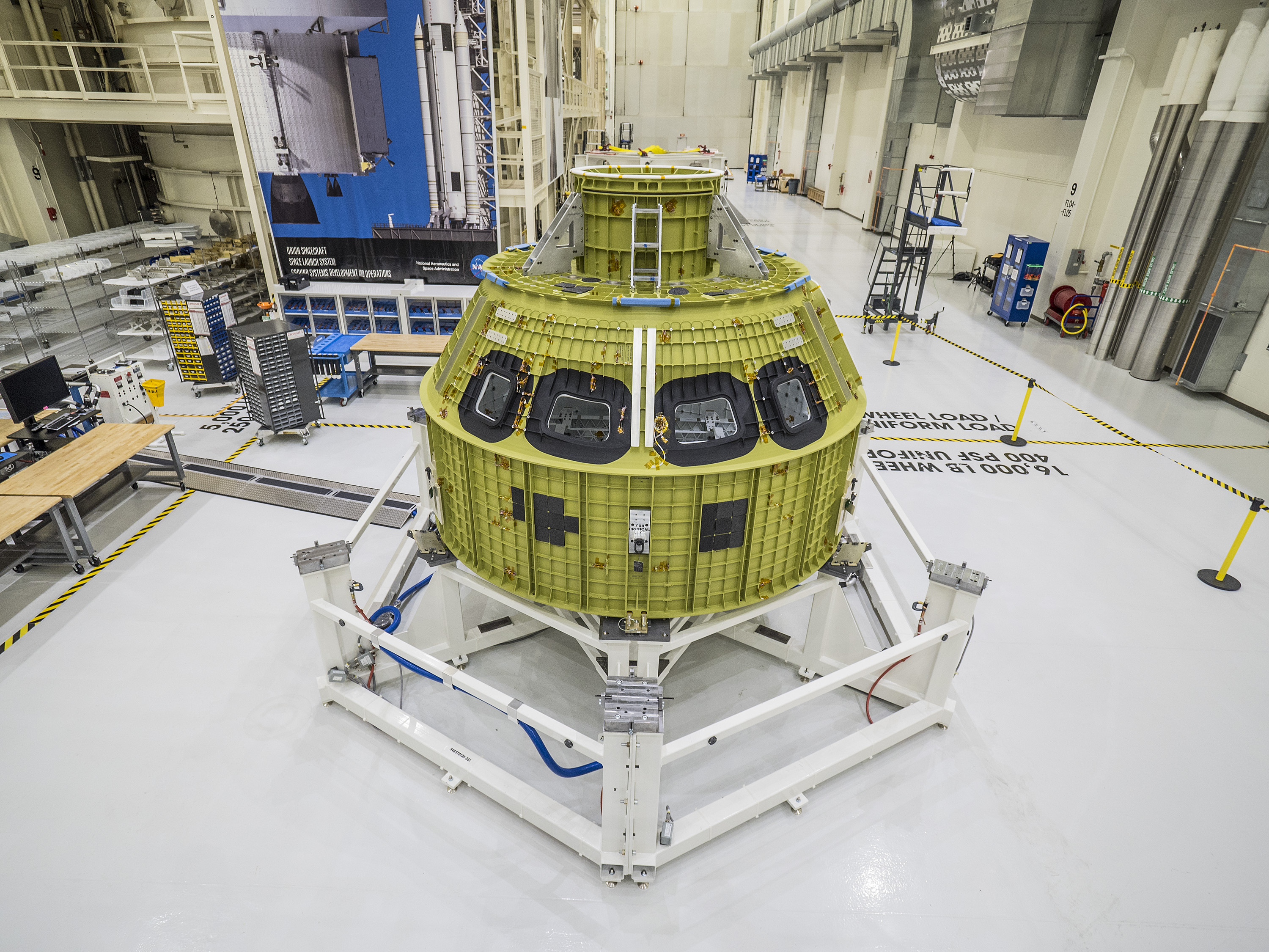 engineers test design changes to orion fairing panels nasa the orion crew module pressure vessel