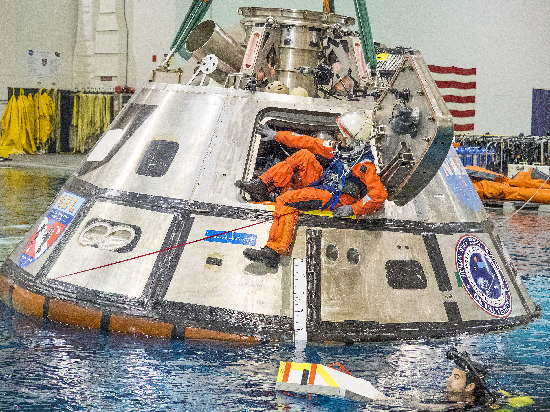 NASA Tests Crew Exit Strategy for Orion | NASA
