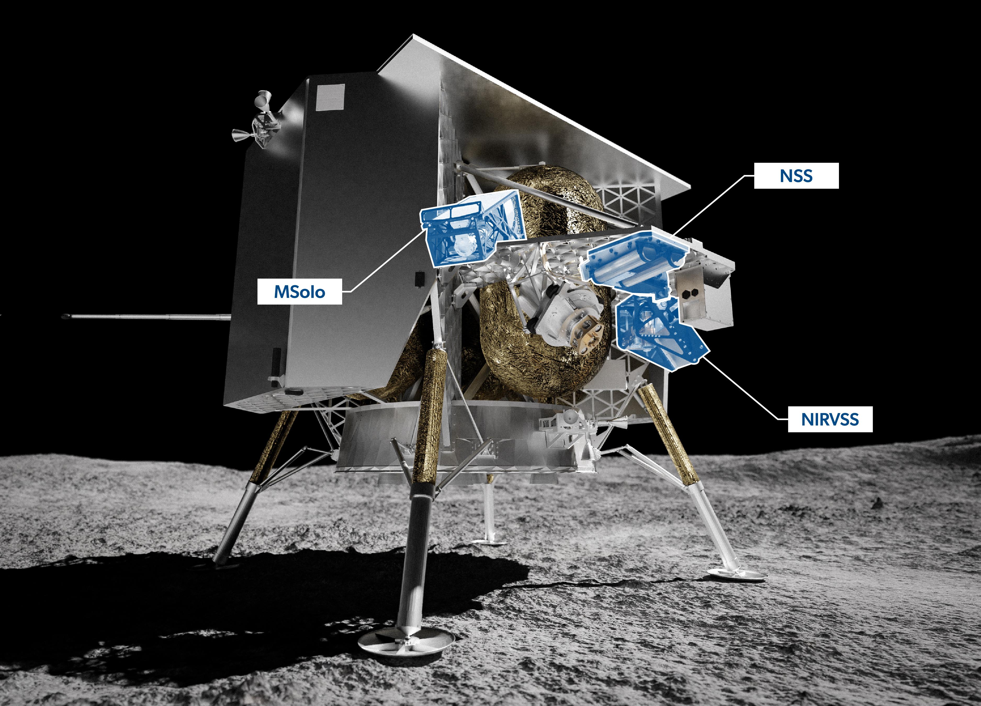 Začátkem příštího roku pošle Astrobotic na povrch Měsíce přistávací modul Peregrine s nákladem 28 zařízení