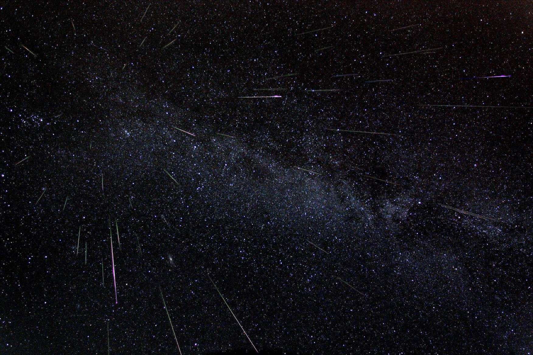 nasa tv to host perseid meteor shower program