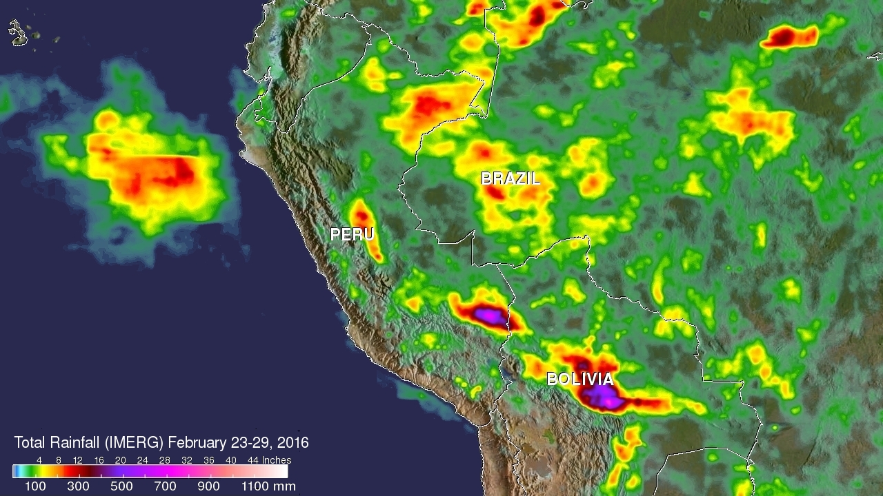 IMERG Measures Flooding Rainfall in Peru | NASA