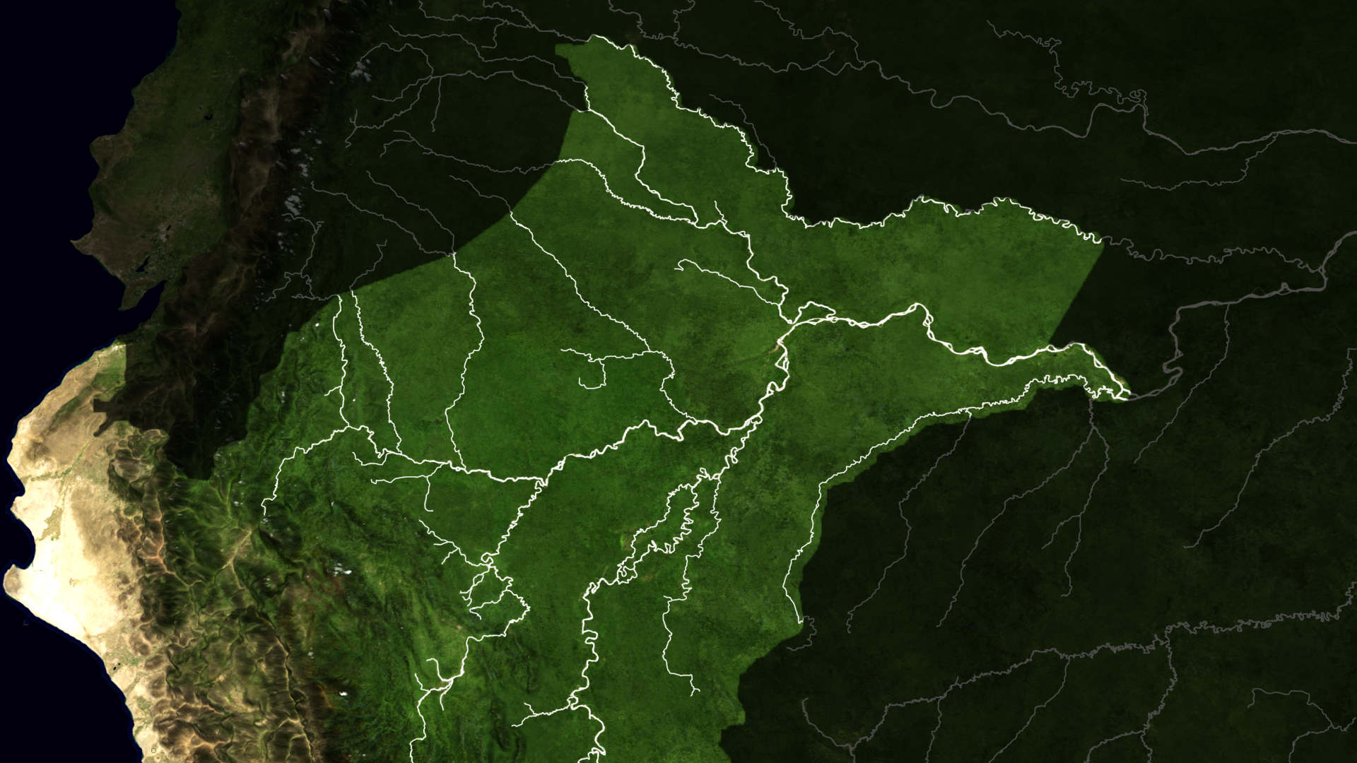 A Map Showing The Rivers The Peruvian Amazon And Surrounding Areas Precipitation And Other Environmental Conditions Affect River Height Which Can Impact