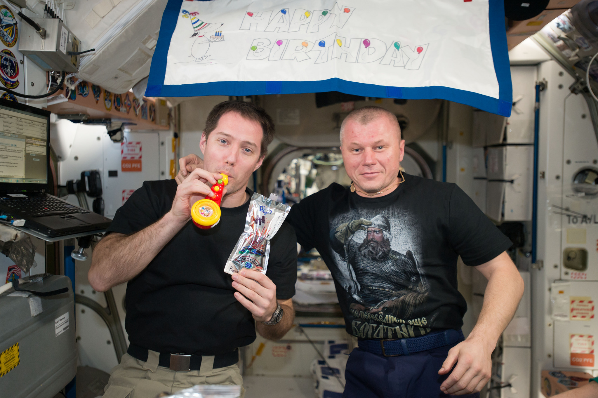 NASA TV Coverage Set for Return of Two Space Station Crew Members