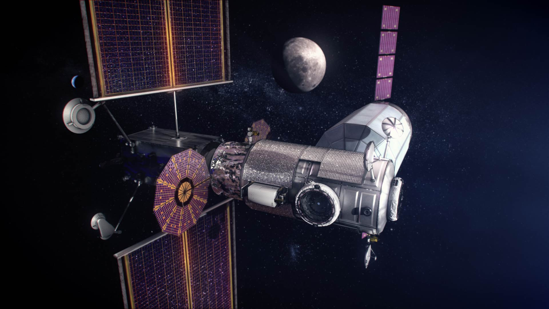 Nasa Selects First Science Instruments To Send To Gateway