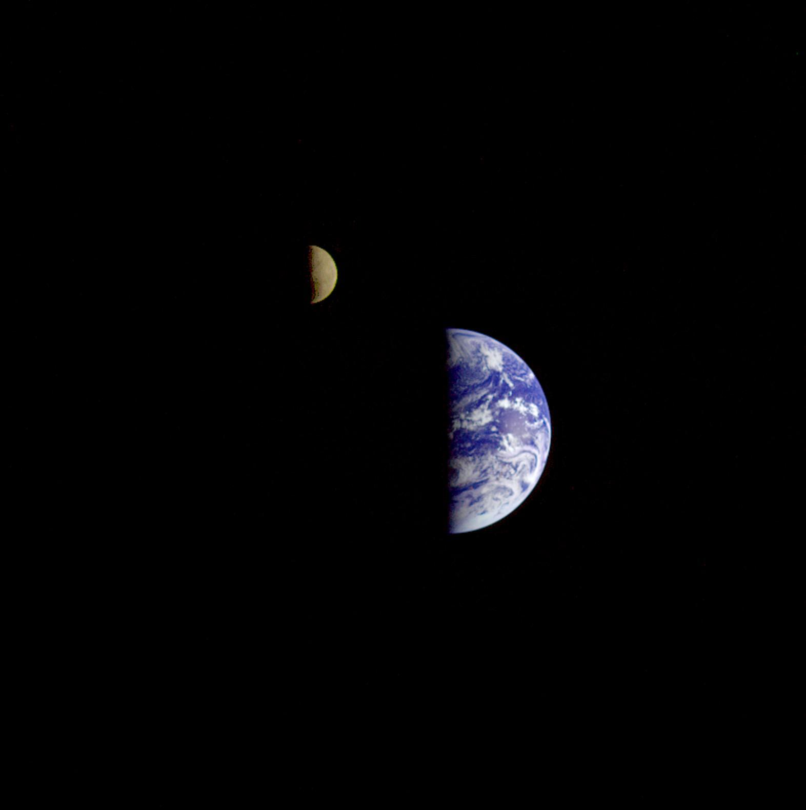 Galileo: Earth and Moon | NASA
