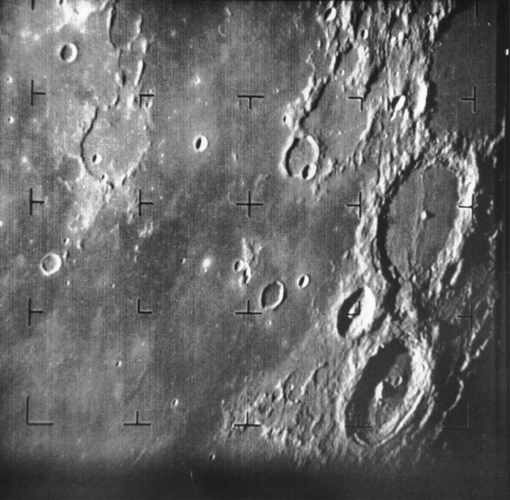 Image result for space probe lunar 7 begins sending pictures of the moon back to earth
