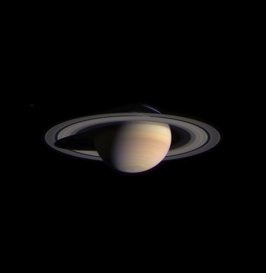 Cassini Captures Stunning View Of Saturn | NASA